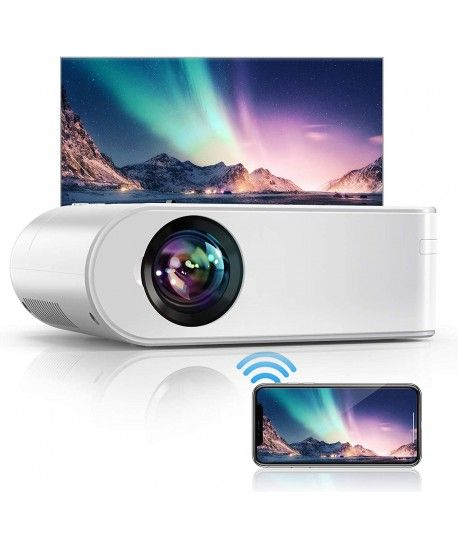 Video projecteur 6000 lumens LED WIFI Android