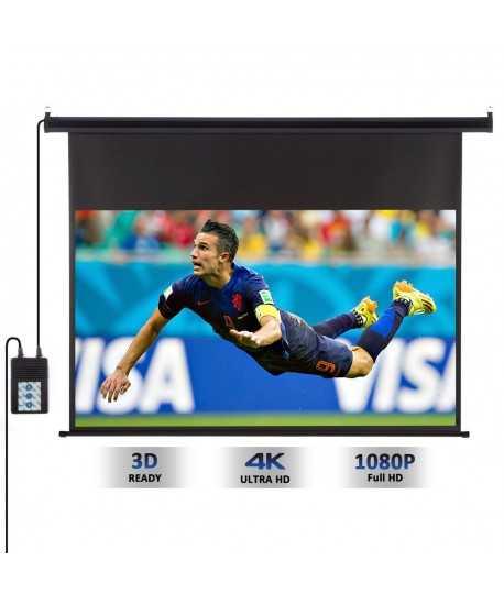 Ecran de projection motorisé 100'' 221cm x 125cm
